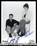 Autographs, Donny & Marie Osmond