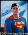 Autographs, Christopher Reeves