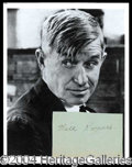 Autographs, Will Rogers