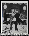 Autographs, Ginger Rogers & Fred Astaire