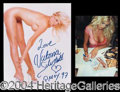 Autographs, Victoria Silvstedt