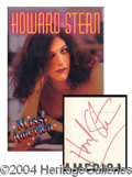 Autographs, Howard Stern