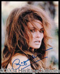 Autographs, Racquel Welch
