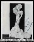 Autographs, Mae West