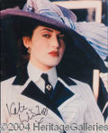 Autographs, Kate Winslet