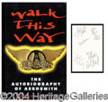 Autographs, Aerosmith