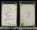 Autographs, The Beatles (Paul McCartney)