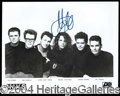Autographs, Michael Hutchence (INXS)