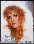 Autographs, Stevie Nicks