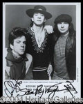 Autographs, Stevie Ray Vaughan and Double Trouble