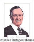 Autographs, George Bush