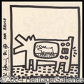 Autographs, Keith Haring