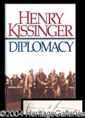 Autographs, Henry Kissinger