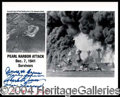 Autographs, Pearl Harbor