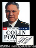 Autographs, Colin Powell