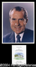 Autographs, Richard Nixon