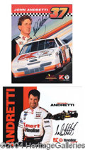Autographs, The Andretti's: A Family of Racers!