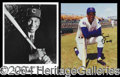 Autographs, Ernie Banks, Then and Now