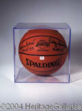 Autographs, Elgin Baylor/Jerry West