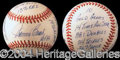 Autographs, Johnny Bench Statball