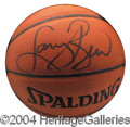 Autographs, Larry Bird