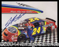 Autographs, Jeff Gordon