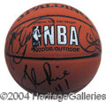 Autographs, L.A. Lakers 1999-2000 Championship Team Ball