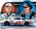 Autographs, Richard Petty and Bobby Hamilton