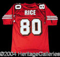 Autographs, Jerry Rice