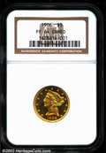 Proof Liberty Half Eagles: , 1906 $5 PR 64 Cameo NGC. ...