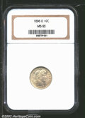 Barber Dimes: , 1896-O 10C MS65 NGC. Mintage: 610,000. The current Coin Deale...