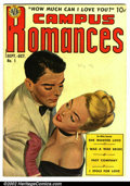 Golden Age (1938-1955):Romance, Campus Romances #1 (Avon, 1949). Condition VG. ...