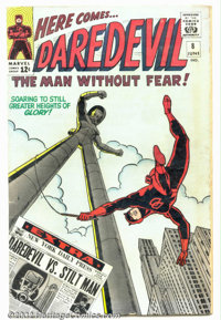 Daredevil #8 (Marvel, 1965). Condition: VG. Wally Wood art