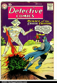 Detective Comics #272 (DC, 1959). Condition: VG