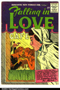 Silver Age (1956-1969):Romance, Falling in Love #4 (Arleigh publishing company, 1956). ConditionVG....