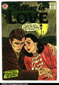 Silver Age (1956-1969):Romance, Falling in Love #14 (National, 1957). Condition VG....