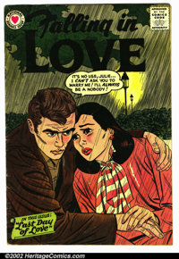 Falling in Love #14 (National, 1957). Condition VG