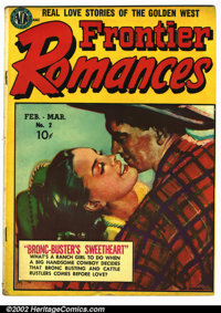 Frontier Romances #2 (Avon, 1950). Condition VG