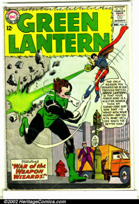 Green Lantern (2nd Series) #25 (DC, 1963). Condition: VG-