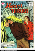 Silver Age (1956-1969):Romance, Heart Throbs #54 (Arleigh publishing company, 1958). ConditionVG/FN....