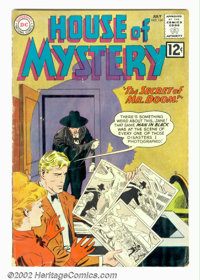 House of Mystery #124 (DC, 1962). Condition: VG