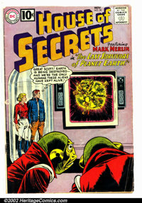 House of Secrets #50 (DC, 1961). Condition: VG