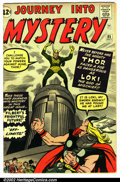 Silver Age (1956-1969):Superhero, Journey into Mystery #85 (Marvel, 1962). Condition VG....
