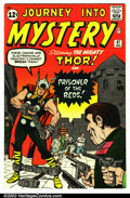 Silver Age (1956-1969):Superhero, Journey into Mystery #87 (Marvel, 1962). Condition VG+ . Small pin marking on top front cover....