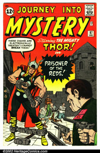 Journey into Mystery #87 (Marvel, 1962). Condition VG+ . Small pin marking on top front cover