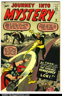 Journey into Mystery #88 (Marvel, 1963). Condition VG/FN