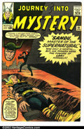 Silver Age (1956-1969):Superhero, Journey into Mystery #91 (Marvel, 1963). Condition VG. ...