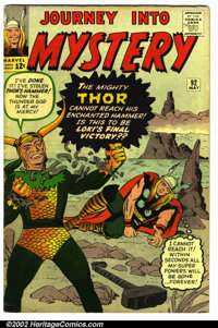 Journey into Mystery #92 (Marvel, 1963). Condition VG+