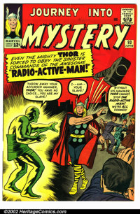Journey into Mystery #93 (Marvel, 1963). Condition VG+