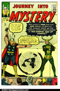 Journey into Mystery #94 (Marvel, 1963). Condition FN+